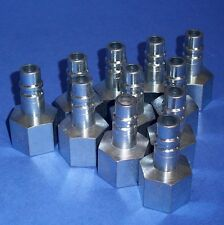 Dynaquip 1/2 In. Npt Female Coupler Plugs, P1520 *New Lot Of 11*