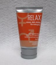 Doc Johnson Relax Anal Relaxer 2oz Unisex H2o Lubricant Hot Sexy Butt Play Lube