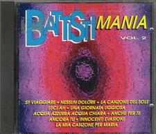 """MASTERSOUND - RARO CD FUORI CATALOGO 1994 """" BATTISTIMANIA VOL.2 """" LUCIO BATTISTI"""