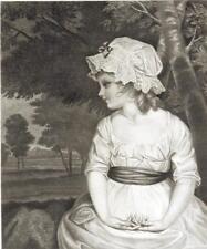 Joshua Reynolds : SIMPLICITY , 1893 Etching