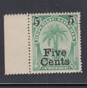 Liberia # 50 MTH 1893 Surcharge