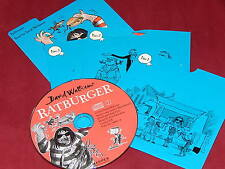 RATBURGER Written and Read  by DAVID WALLIAMS on 3 AUDIO CDs NEW