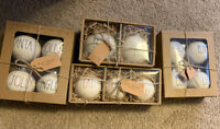 Lot Of rae dunn christmas Ornaments (13 Pieces)