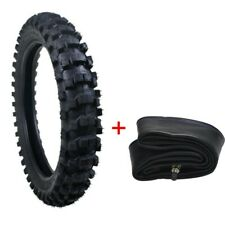 "Rear Motocross Tire Offroad 90/100-16 & Tube 3.25 x 16"" Combo for Dirt Pit Bike"