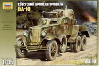 Zvezda 1/35 ba-10 soviético Vehículo blindado #3617