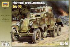 Zvezda 1/35 BA-10 Soviet Armoured car Nº 3617