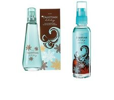 Avon Tahitian Holiday Exotic EDT & Body Mist ~ 2 Products Gift Set