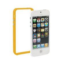 Bumber naranja para Apple iPhone 5 naranja case cover TPU protección marco Wow