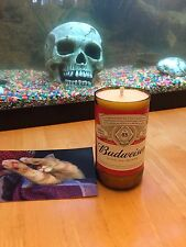Budweiser candle, beer bottle candle, bottle candle