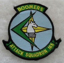 "NAVY ""ATTACK SQUADRON 165 BOOMERS"" 4 1/2"" DIAMETER MERROWED EDGE"