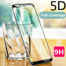 5D Curved Full Cover Tempered Glass Film For Samsung Galaxy A5 A8 Plus J7 J2 Pro