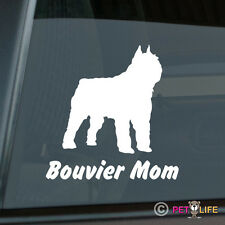 Bouvier Mom Sticker Die Cut Vinyl - des Flandres