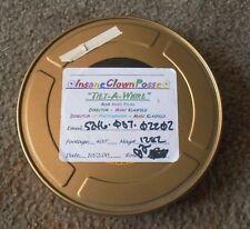 INSANE CLOWN POSSE Tilt-A-Whirl 2000 Rock Music Video empty 35mm film movie can