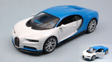 Bugatti Chiron 2016 White Blue 1 24 Model 32509 Maisto