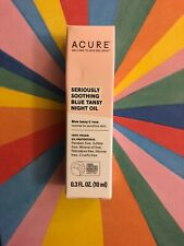 New Acure Seriously Soothing Blue Tansy Night Oil 0.3 Fl Oz.