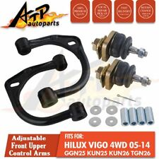 "Adjustable Front Upper Control Arm Lift Up 3"" For Toyota Hilux 05-14 KUN25 KUN26"