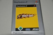 PLAYSTATION 2 gioco-CRAZY TAXI-PLATINUM-SEGA-tedesco ps2 OVP