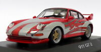 Minichamps 1/43 Scale WAP 020 017 - Porsche 911 GT2 - Red/Silver