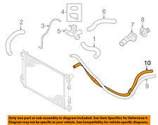 KIA OEM 15-16 Forte Cooling-Oil Cooler Tube 254203X500
