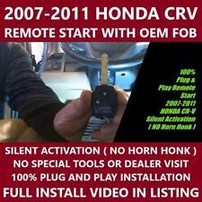 Plug And Play Remote Start Fits 2007 2011 Honda Cr V Crv Fits Honda