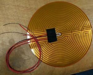 Kapton Heater 24V 240mm diameter, 3d printer, Kossel, delta