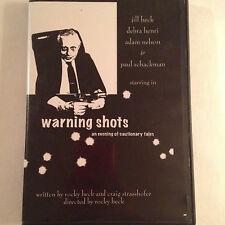 Warning Shots DVD 2 DVD's,1 CD-rom,1 Booklet. Rocky Heck, Craig Strasshofer