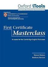 First Certificate Masterclass iTools, OUP Oxford, New Book