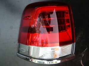 Genuine Toyota Landcruiser GXL VX 200 series Left side tail light 2015 to 2020