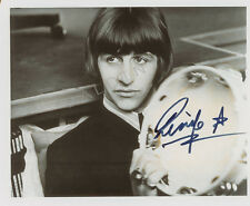 RINGO STARR - BEATLES  SIGNED 10X8 PHOTO, GREAT CLASSIC IMAGE-LOOKS GREAT FRAMED