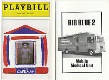 THE CAPEMAN PLAYBILL 1997 + CONCERT PROMO NY CHILDREN'S HEALTH PROJECT
