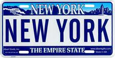 """""""New York"""" NY Novelty License Plate"""