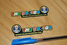 "Rossi ""THE DOCTOR"" Assen 2007 Decals (Pair)"