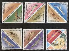 Suriname Zbl Nr  549/560   Gebruikt