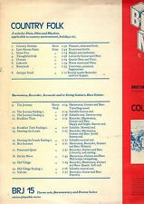 BRUTON LIBRARY.STEVE GRAY / KEVIN PEEK.COUNTRY FOLK.ORIG UK LP.EX