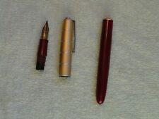 Vintage Waterman Lever Fill Fountain Pen, #2 14K Waterman Ideal Nib-Parts Or Fix