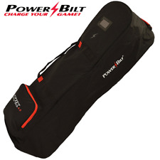 Powerbilt TPX 4.0 Deluxe XL à roulettes Rembourré Sac De Golf Flight Cover Travel Cover