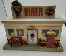 Coca Cola diner birdhouse collection 1997 rare coke Coca-Cola