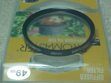 PROMASTER 49MM DIFFUSER FILTER WITH PLASTIC CASE