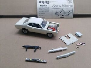 Vintage MPC 1973 Sox & Martin Plymouth Duster Drag Car in 1/25th scale.