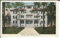 CB-052 AL, Montgomery, Masonic Home, White Border Era Postcard Front View
