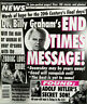 Weekly World News Oct 1997 Billy Graham End Time Message Adolf Hitler Son Zodiac