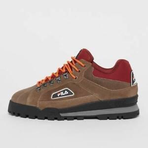 Fila Trailblazer S Low Taupe Gray Suede Retro Fashion Urban Street Hiker Shoes
