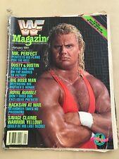 WWF US Magazine January 1991 : MR. PERFECT Cover ' - WWE Wrestling