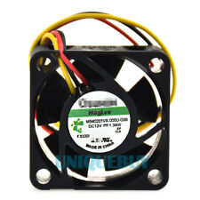 For Sunon MB40201VX-000U-G99 40mmx20mm Vapo Bearing cooling Fan 3Pin