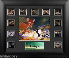 Film Cell Genuine 35mm Framed Matted Walt Disney Bambi Mini Montage USFC5682