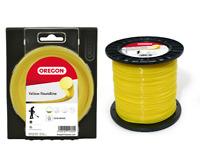 OREGON STARLINE yellow nylon trimmer strimmer line 2 mm x 15 metres NEW line