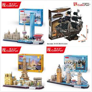 CubicFun 3D CardBoard Jigsaw Puzzle Large Model Gift