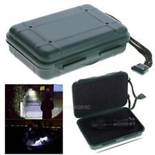 1x Universal Waterproof Plastic Storage Box Case for Flashlight Light Torch Lamp