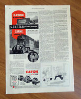 1950 Eaton Truck Axles Ad J E Franklin Tomlinson Driver Mendenhall Jr Manager