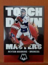New listing 2020 Panini Mosaic Touchdown Masters #10 Peyton Manning BRONCOS
